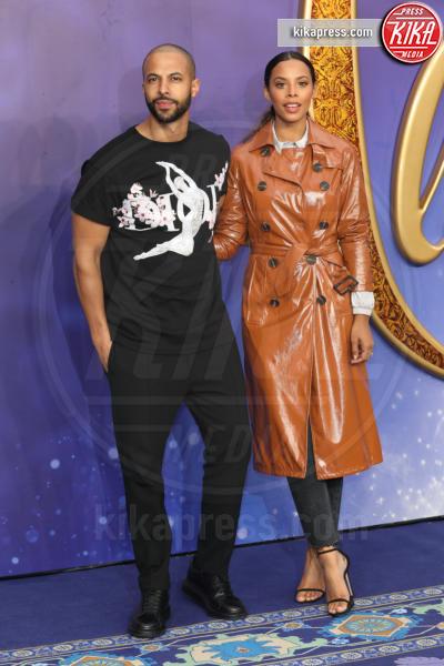 Rochelle Humes, Marvin Humes - Londra - 09-05-2019 - Aladdin, Will Smith e Guy Ritchie aprono il tour a Londra