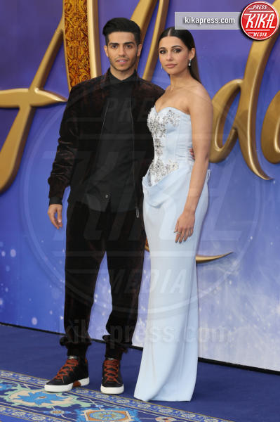 Mena Massoud, Naomi Scott - Londra - 09-05-2019 - Aladdin, Will Smith e Guy Ritchie aprono il tour a Londra