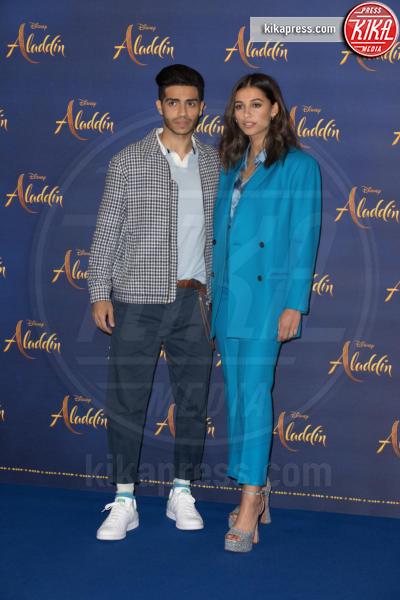 Mena Massoud, Naomi Scott - Londra - 10-05-2019 - Aladdin, Will Smith e Guy Ritchie aprono il tour a Londra