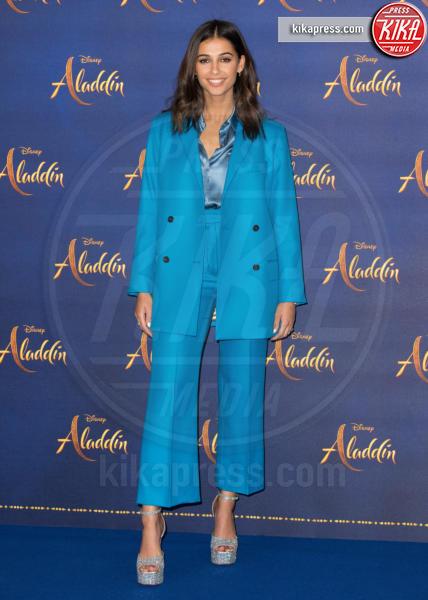 Naomi Scott - Londra - 10-05-2019 - Aladdin, Will Smith e Guy Ritchie aprono il tour a Londra