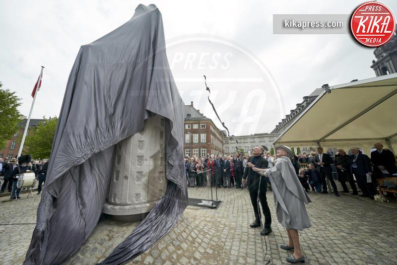 Regina Margherita di Danimarca - Copenaghen - 10-05-2019 - La Regina Margherita in grigio per celebrare Cristian IV