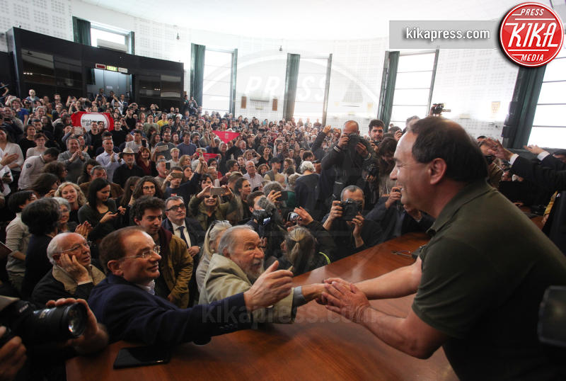 Domenico Lucano - Roma - 13-05-2019 - Mimmo Lucano show alla Sapienza di Roma