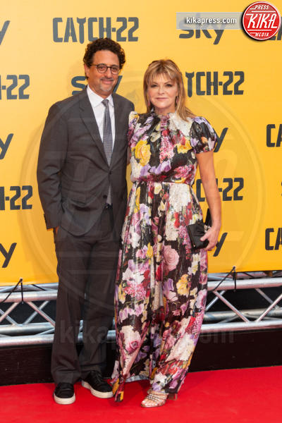 Lisa Heslov, Grant Heslov - Roma - 13-05-2019 - George Clooney a Roma per Catch 22: