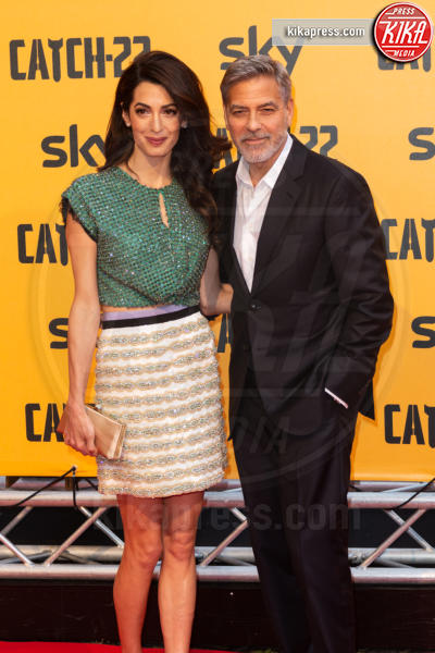 Amal Clooney, George Clooney - Roma - 13-05-2019 - George Clooney a Roma per Catch 22: