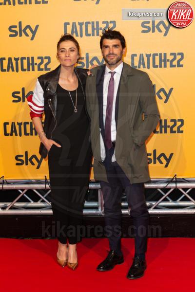 Paolo Sopranzetti, Anna Foglietta - Roma - 13-05-2019 - George Clooney a Roma per Catch 22:
