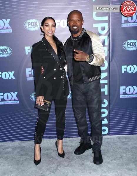 Corinne Foxx, Jamie Foxx - New York - 13-05-2019 - Beverly Hills 90210: reunion ufficiale per i palinsesti Fox!