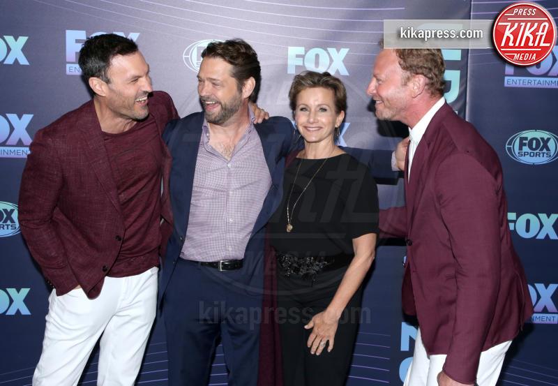 Gabrielle Carteris, Brian Austin Green, Jason Priestley - New York - 13-05-2019 - Beverly Hills 90210: reunion ufficiale per i palinsesti Fox!