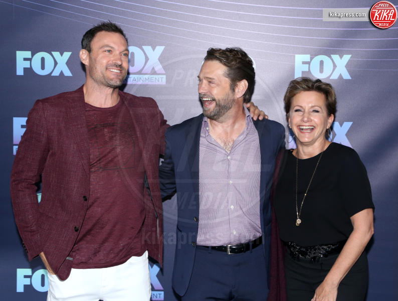 Gabrielle Carteris, Brian Austin Green, Jason Priestley - New York - 13-05-2019 - Beverly Hills 90210: reunion ufficiale per i palinsesti Fox!