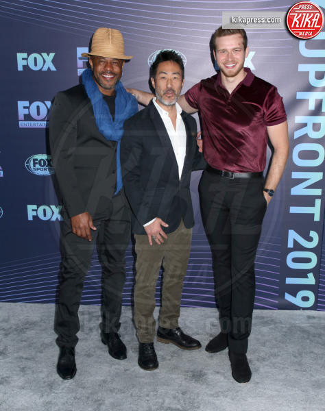Oliver Stark, Kenneth Choi, Rockmond Dunbar - New York - 13-05-2019 - Beverly Hills 90210: reunion ufficiale per i palinsesti Fox!