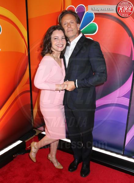 Steven Weber, Fran Drescher - New York - 13-05-2019 - Rieccola! Tata Francesca alla presentazione dei palinsesti NBC