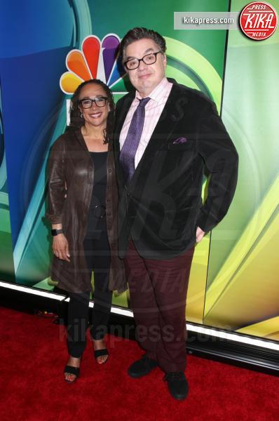 Oliver Platt, S. Epatha Merkerson - New York - 13-05-2019 - Rieccola! Tata Francesca alla presentazione dei palinsesti NBC