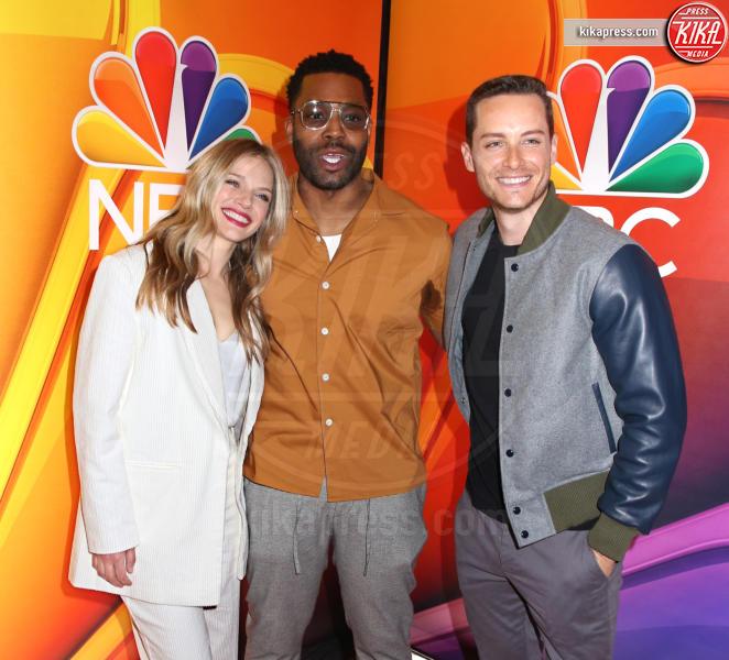 LaRoyce Hawkins, Tracy Spiridakos, Jesse Lee Soffer - New York - 13-05-2019 - Rieccola! Tata Francesca alla presentazione dei palinsesti NBC