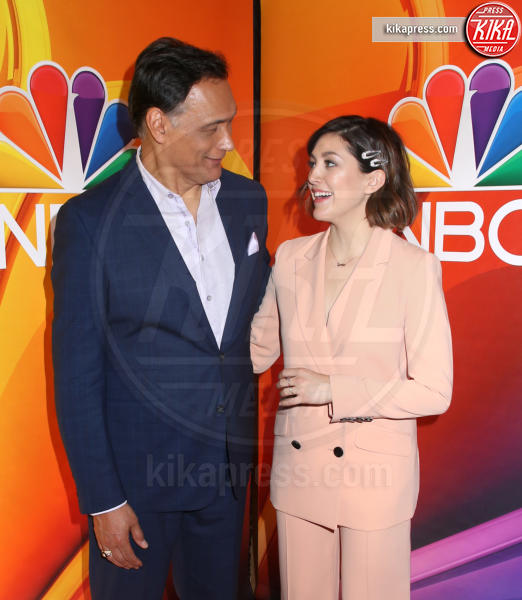 CaitlinMcGee, JIMMY SMITS - New York - 13-05-2019 - Rieccola! Tata Francesca alla presentazione dei palinsesti NBC