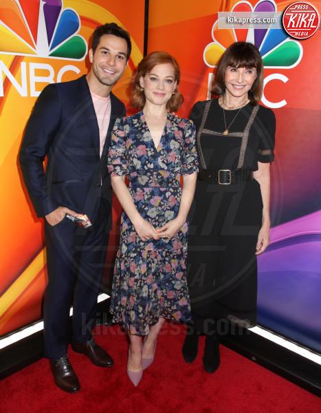 Skylar Astin, Jane Levy, Mary Steenburgen - New York - 13-05-2019 - Rieccola! Tata Francesca alla presentazione dei palinsesti NBC
