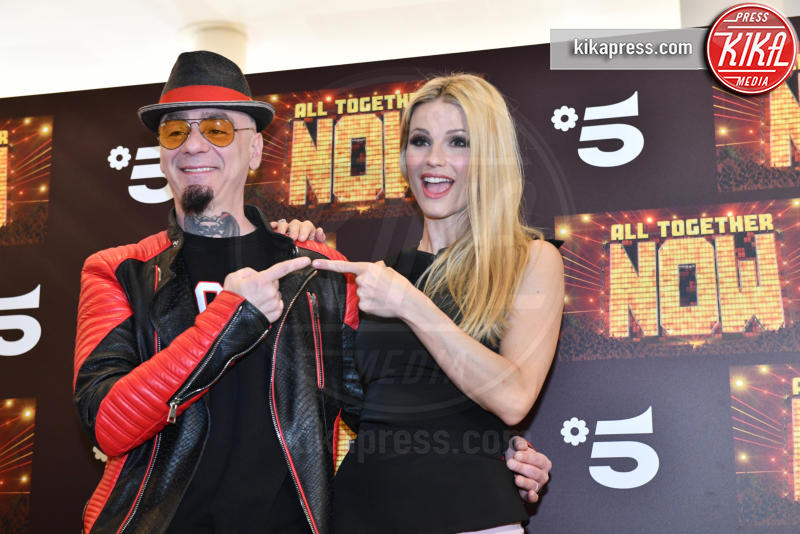 J-Ax, Michelle Hunziker - Milano - 14-05-2019 - Michelle Hunziker e J-Ax, tandem d'attacco per All together now