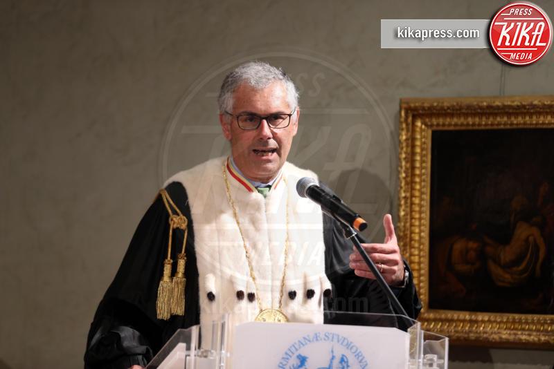 Fabrizio Micari - Palermo - 14-05-2019 - Alberto Angela si laurea honoris causa in comunicazione