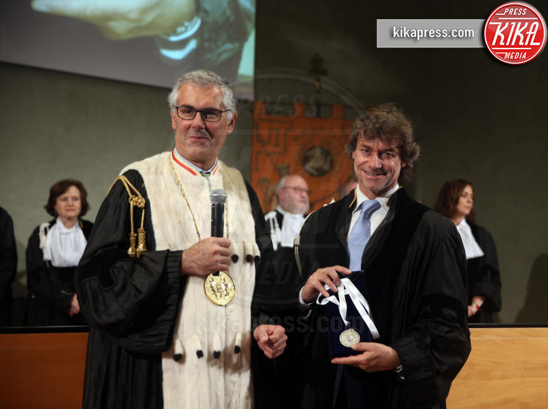 Fabrizio Micari, Alberto Angela - Palermo - 14-05-2019 - Alberto Angela si laurea honoris causa in comunicazione