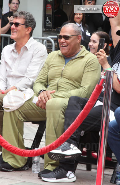 Laurence Fishburne - Hollywood - 14-05-2019 - Keanu Reeves mette le impronte nella storia del cinema