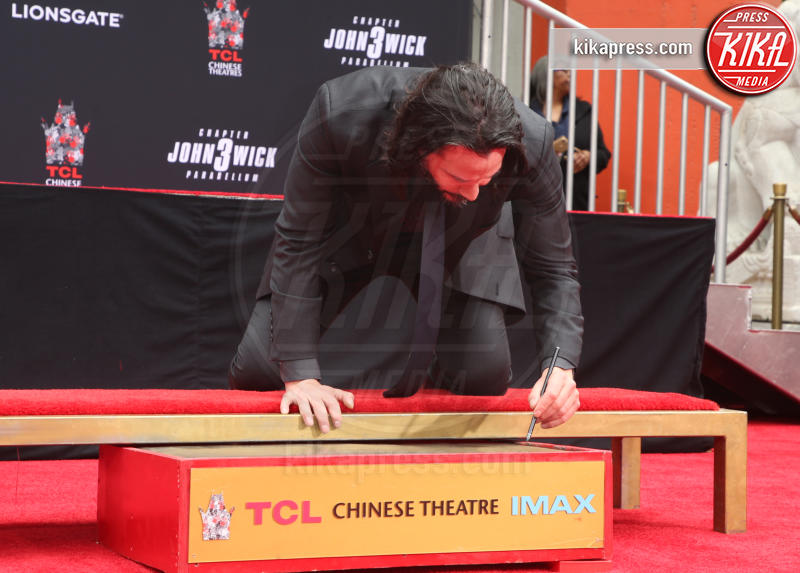 Keanu Reeves - Hollywood - 14-05-2019 - Keanu Reeves mette le impronte nella storia del cinema