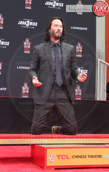 Keanu Reeves - Hollywood - 14-05-2019 - Keanu Reeves mette le impronte nella storia del cinema