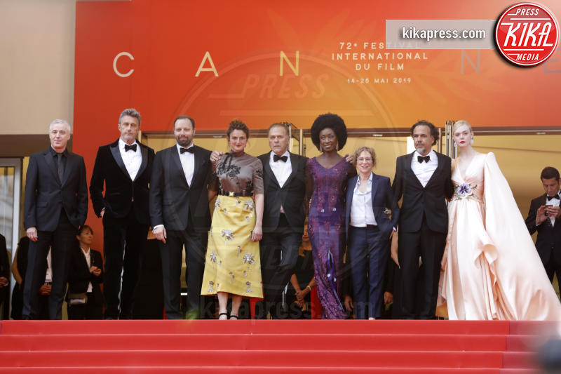 Diaye, Maimouna N&#39, Enki Bilal, Robin Campillo, Pawel Pawlikowski, Yorgos Lanthimos, Kelly Reichardt, Alice Rohrwacher, Alejandro Gonzalez Inarritu, Elle Fanning - Cannes - 14-05-2019 - Cannes 2019: le foto della prima giornata