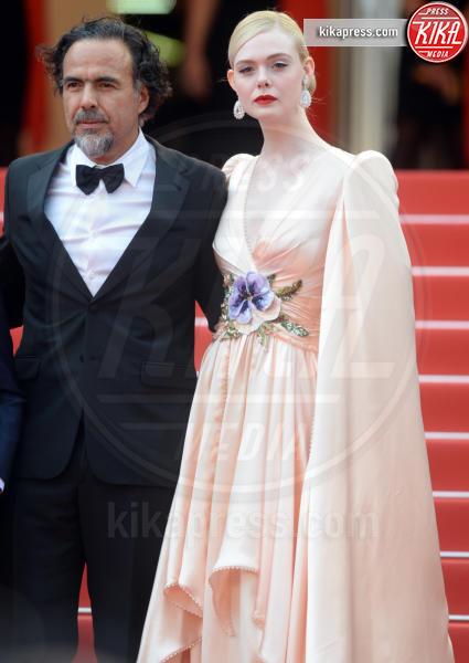 Alejandro Gonzales Inarritu, Elle Fanning - Cannes - 14-05-2019 - Cannes 2019: le foto della prima giornata