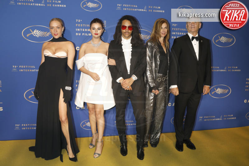 Luka Sabbat, Sara Driver, Selena Gomez, Bill Murray, Chloe Sevigny - Cannes - 14-05-2019 - Cannes 2019: Selena Gomez incanta in corto bianco al Gala Dinner