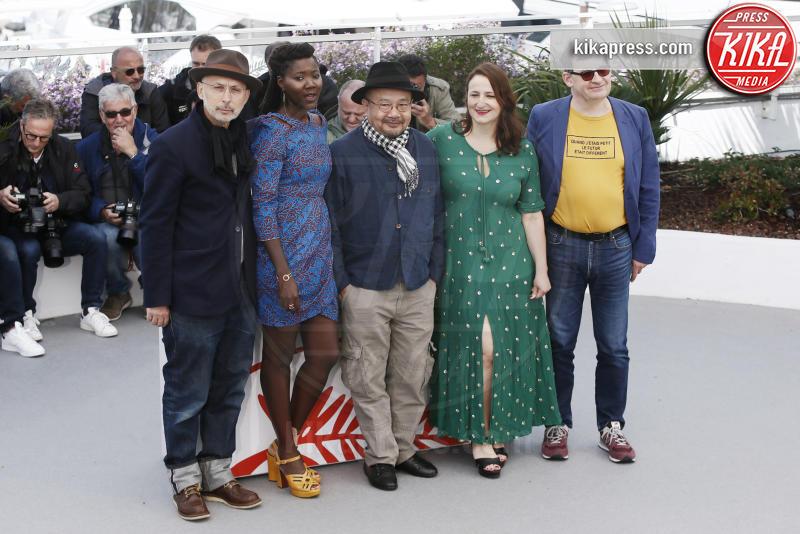 Sandrine Marques, Alice Diop, Benoit Delhomme, Nicolas Naegelen, Rithy Panh - Cannes - 15-05-2019 - Cannes 2019:  la giuria Un Certain Regard