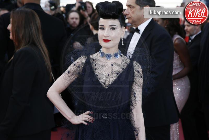 Dita Von Teese - Cannes - 17-05-2019 - Cannes 2019: i gioielli delle star brillano sul red carpet