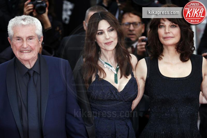 Monica Bellucci, Claude Lelouch - Cannes - 18-05-2019 - Cannes 2019: i gioielli delle star brillano sul red carpet