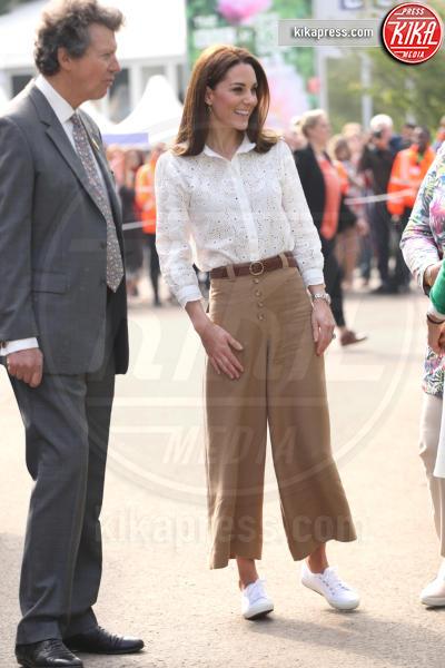 Catherine, Kate Middleton - Londra - 20-05-2019 - Kate Middleton, Superga e culotte al Chelsea Flower Show
