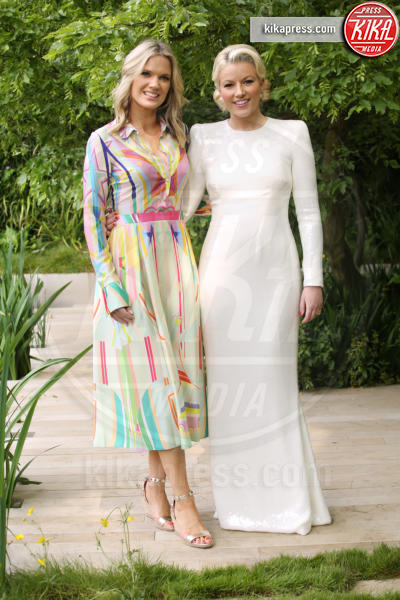 Natalie Rushdie, Charlotte Hawkins - Londra - 20-05-2019 - Kate Middleton, Superga e culotte al Chelsea Flower Show