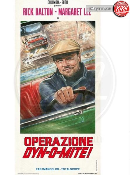 Once Upon a Time in Hollywood&#39, Leonardo DiCaprio - Hollywood - 20-05-2019 - C'era una volta a Hollywood, le locandine omaggiano l'Italia