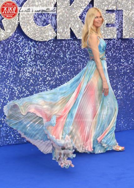 Claudia Vaughn née Schiffer, Claudia Schiffer - Londra - 20-05-2019 - Claudia Schiffer porta l'arcobaleno alla première di Rocketman