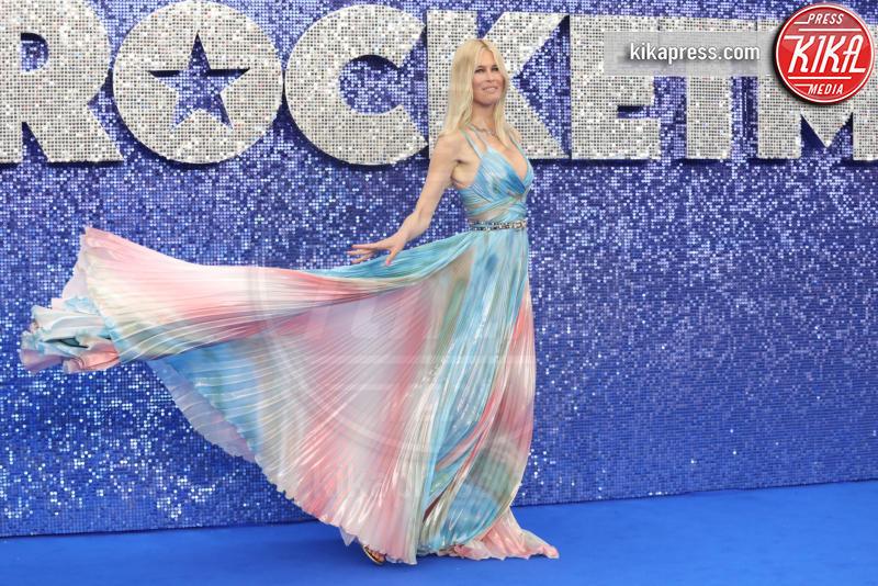Claudia Schiffer - Londra - 20-05-2019 - Claudia Schiffer porta l'arcobaleno alla première di Rocketman