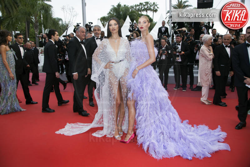 Shanina Shaik, Elsa Hosk - Cannes - 24-05-2019 - Cannes 2019, Adèle Exarchopoulos torna sul luogo del delitto