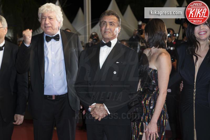 Victor Hadida, Avi Lerner, Paz Vega, Sylvester Stallone, Christa Campbell - Cannes - 24-05-2019 - Cannes 2019, è la notte di Sylvester Stallone e di Rambo 5