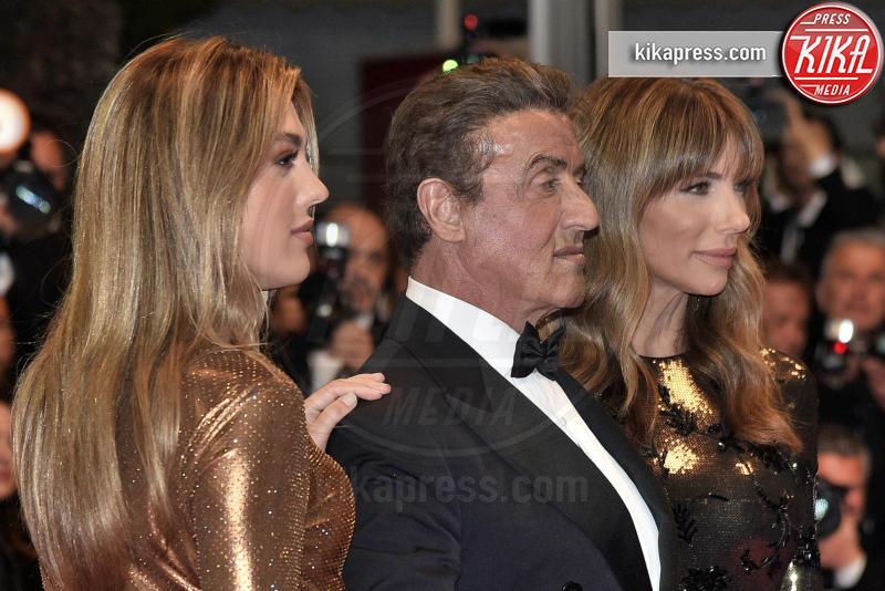 Sistine Rose Stallone, Jennifer Flavin, Sylvester Stallone - Cannes - 24-05-2019 - Cannes 2019, il meglio della penultima giornata