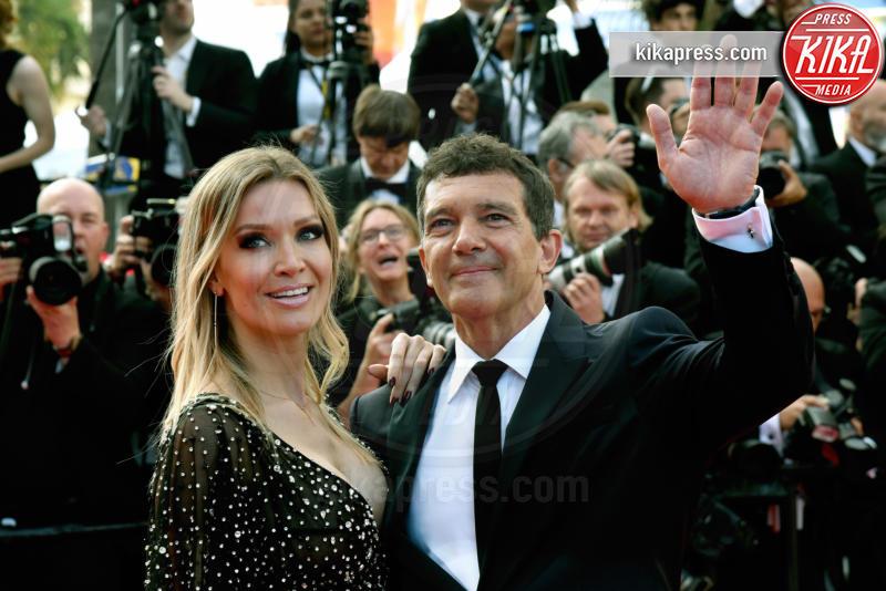Nicole Kimpel, Antonio Banderas - Cannes - 25-05-2019 - Festival di Cannes 2019: l'ultimo red carpet