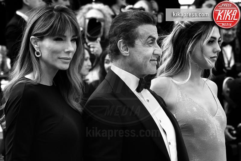 Sistine Rose Stallone, Jennifer Flavin, Sylvester Stallone - Cannes - 25-05-2019 - Festival di Cannes 2019: l'ultimo red carpet