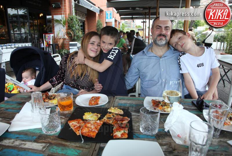 Famiglia Forconi Pace, Samuel Forconi Pace, Gabriel Forconi Pace, Filomena Di Gennaro, Peter Forconi Pace - 01-06-2019 - Filomena: