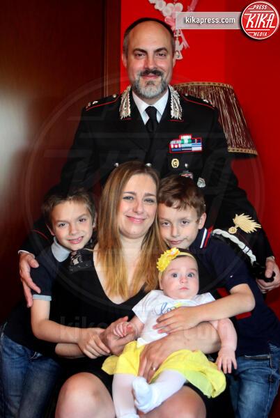 Famiglia Forconi Pace, Samuel Forconi Pace, Gabriel Forconi Pace, Filomena Di Gennaro, Peter Forconi Pace - Roma - 01-06-2019 - Filomena: