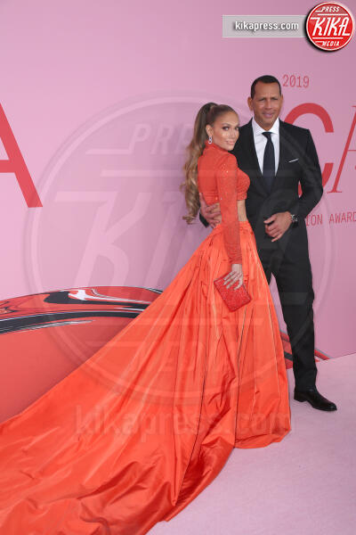 Alex Rodriguez, Jennifer Lopez - New York - 06-06-2019 - CFDA 2019: Jennifer Lopez è la Fashion Icon