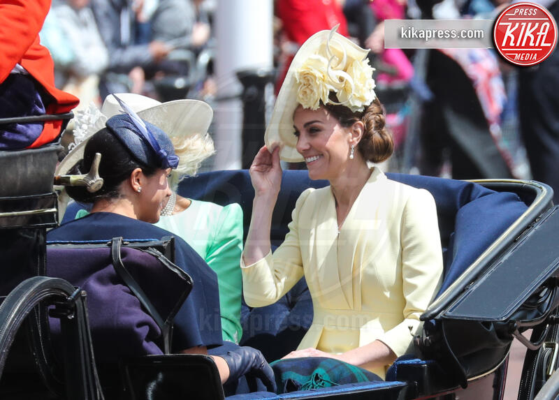 Meghan Markle, Kate Middleton, Camilla Parker Bowles - Londra - 08-06-2019 - Trooping the colour, è Louis la vera star della festa!