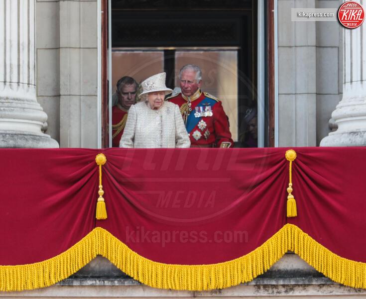 Principe Carlo d'Inghilterra, Regina Elisabetta II - Londra - 08-06-2019 - Trooping the colour, è Louis la vera star della festa!