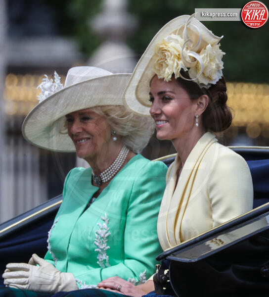 Kate Middleton, Camilla Parker Bowles - Londra - 08-06-2019 - Trooping the colour, è Louis la vera star della festa!