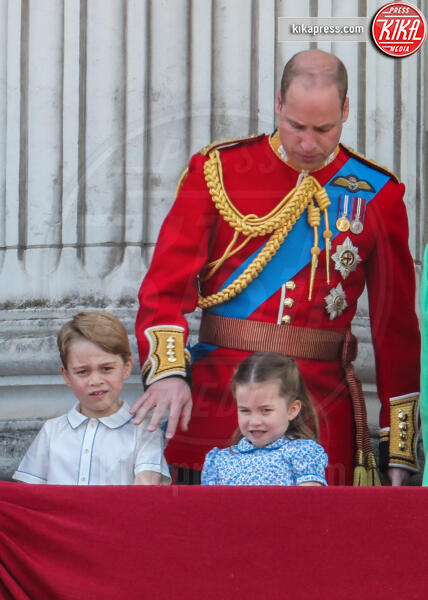 Principessa Charlotte Elizabeth Diana, Principe George, Principe William - Londra - 08-06-2019 - Trooping the colour, è Louis la vera star della festa!