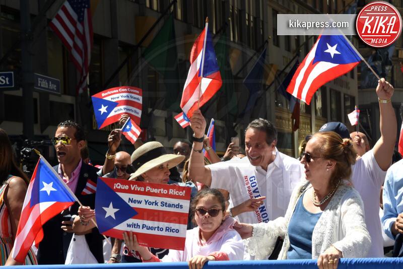 Andrew Cuomo - New York - 10-06-2019 - Ricky Martin si scatena per la Puerto Rican Day Parade