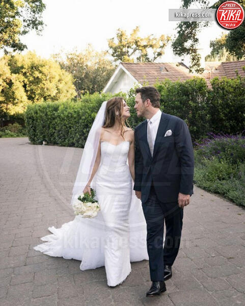 Katherine Schwarzenegger, Chris Pratt - Santa Barbara - 10-06-2019 - Chris Pratt e Katherine Schwarzenegger, le foto delle nozze