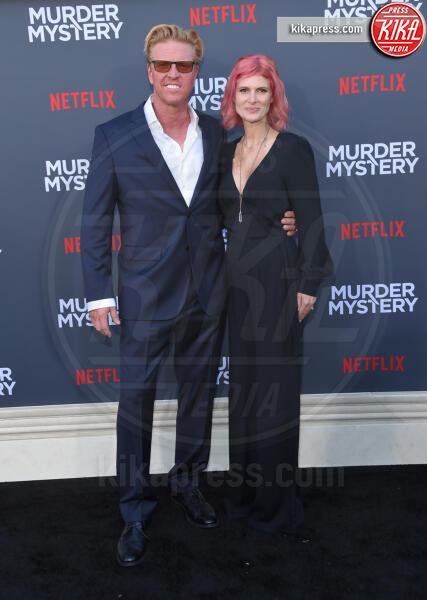 April Hutchonson, Jake Busey - Westwood - 10-06-2019 - Adam Sandler e Jennifer Aniston ancora insieme!